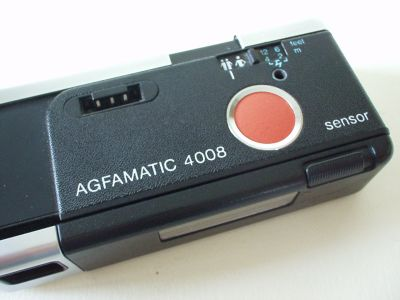 Agfa Agfamatic 4008 pocket sensor