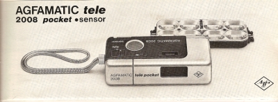 Agfa Agfamatic tele 2008 pocket sensor