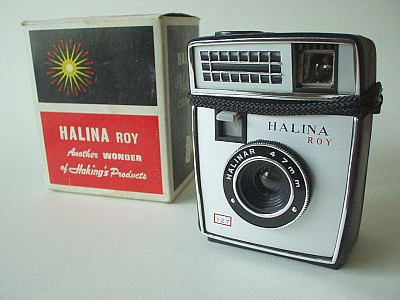 Haking Halina Roy Flash 127 Camera