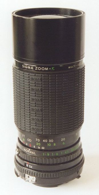 Sigma Zoom 1:4,5 f=100~200 mm