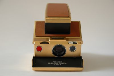 Polaroid SX-70 Land Camera Alpha 1 (Gold)